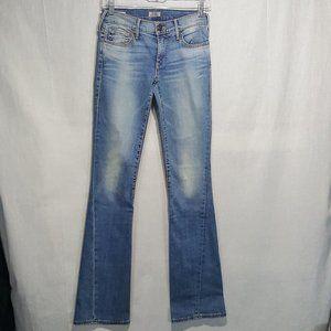 True Religion Becca Mid Rise Bootcut Jeans Sz 25